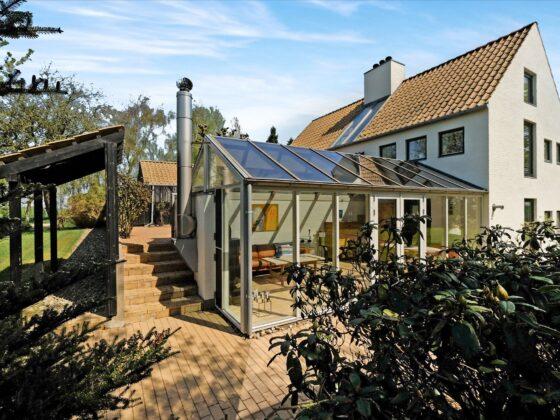 arkitekttegnet villa i Haderslev