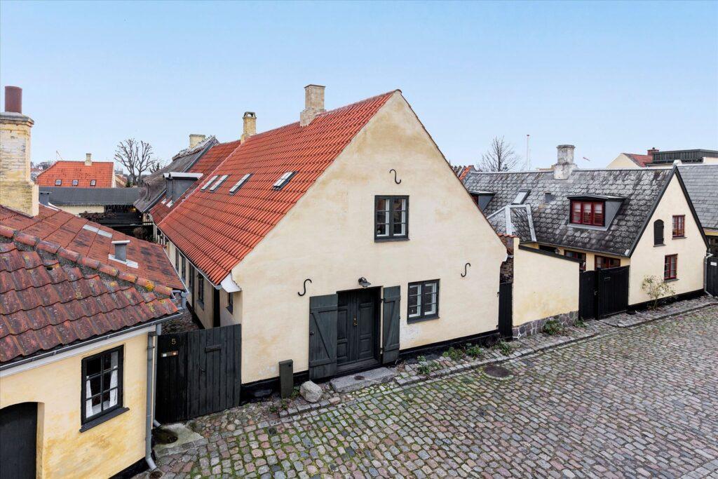 Fredet hus i Dragør, Smuk arkitektur, restaurering