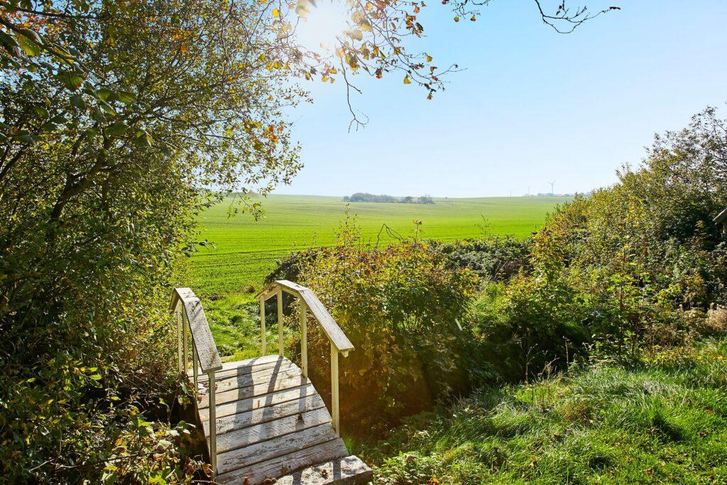 fantastisk udsigt, landlige idyl