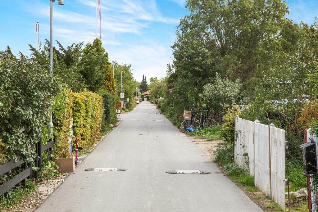 Kolonihavevej, grøn gade