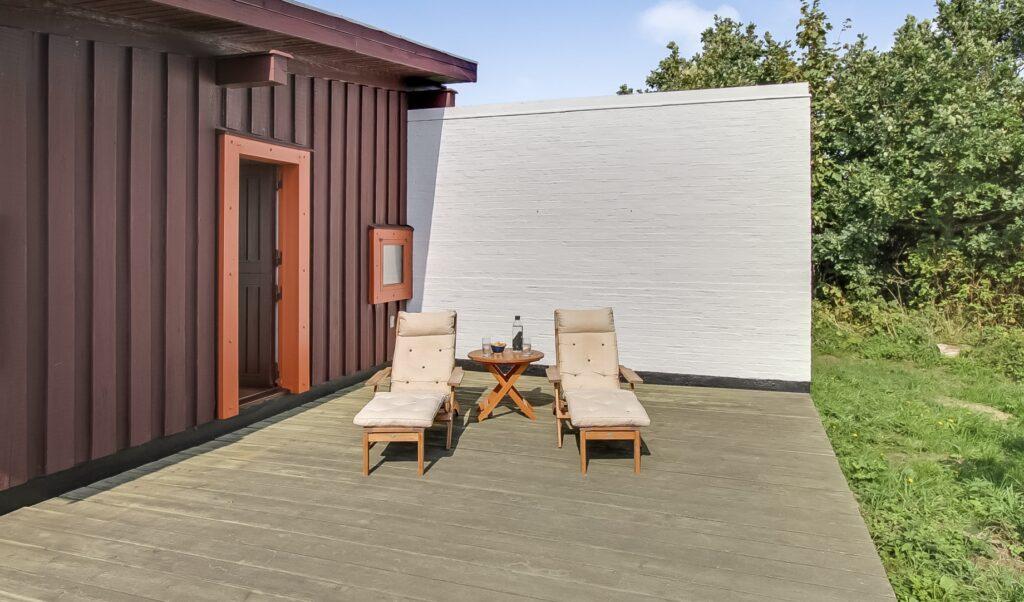 dejlig solkrog, sommerhus arkitekttegnet, Mols
