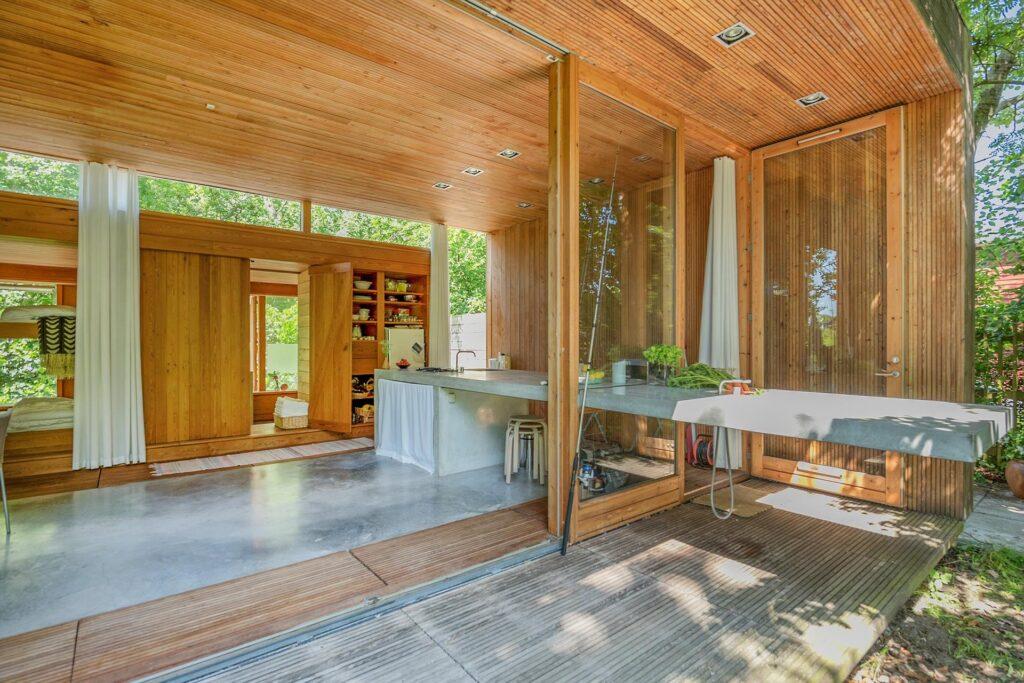betonkøkken, sommerhus, arkitekttegnet, Schmidt, Hammer & Lassen Architects