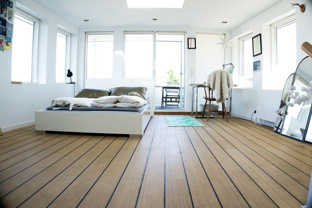 Husbåd soveværelse