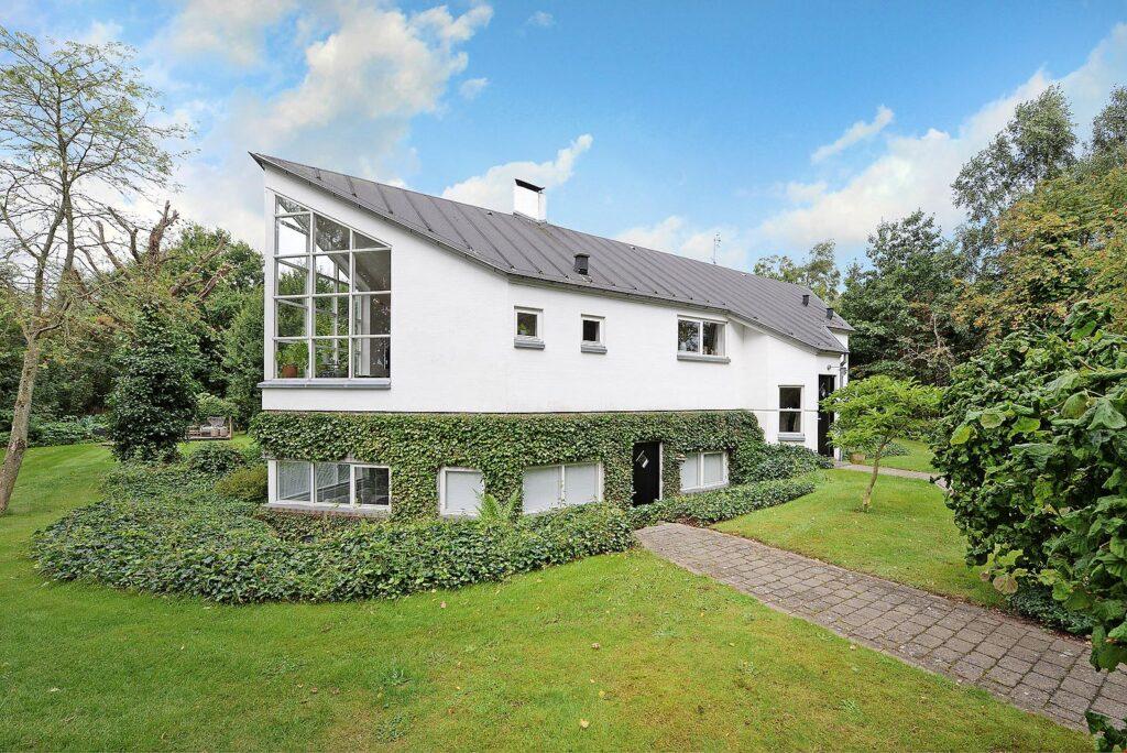 Arkitekttegnet hus i Faldsled til salg. Arkitekttegnet bolig