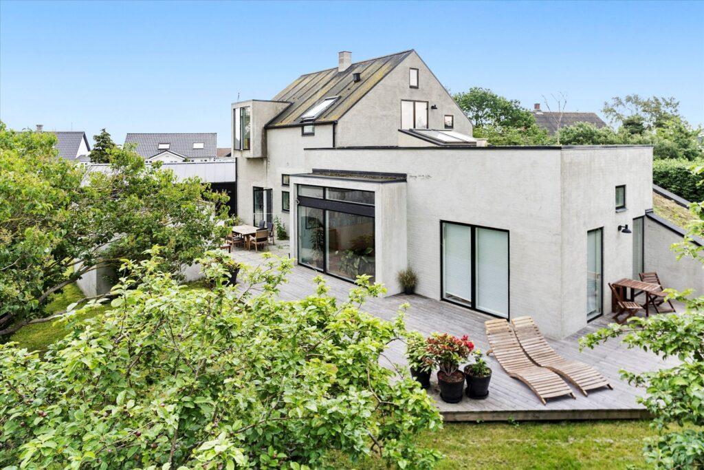 Præmie bolig i Norsminde til salg. Arkitekttegnet bolig i Norsminde til salg