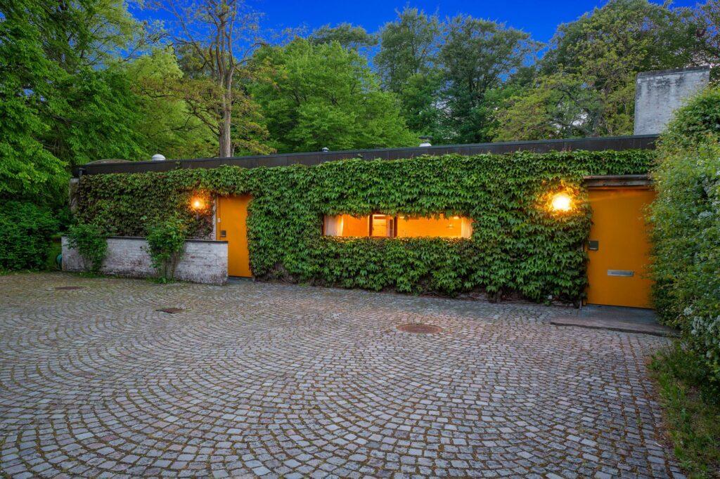 Bornebusch villa Hoff, Søllerød. chaussé sten, rådhusvin, arkitekttegnet