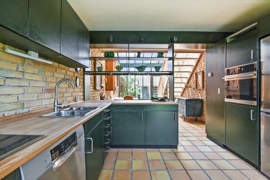 grønt 70'er køkken, Palle Suenson