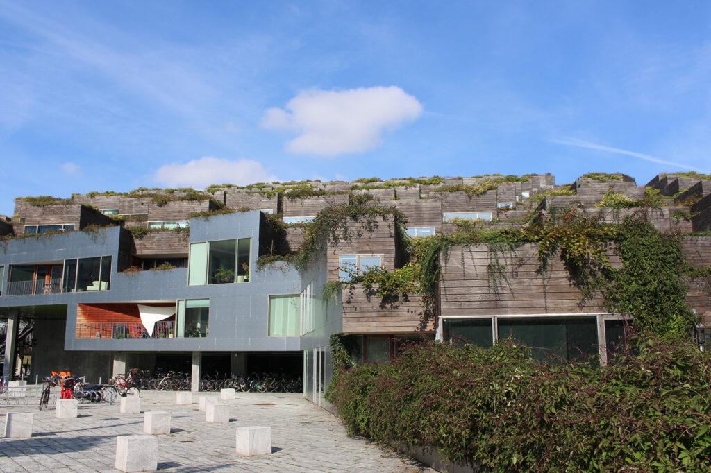 BIG arkitekter, BIG architects, Bjarke Ingels, lejlighed i Bjerget