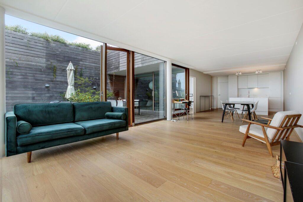 BIG arkitekter, BIG architects, Bjarke Ingels, lejlighed i Bjerget, stue