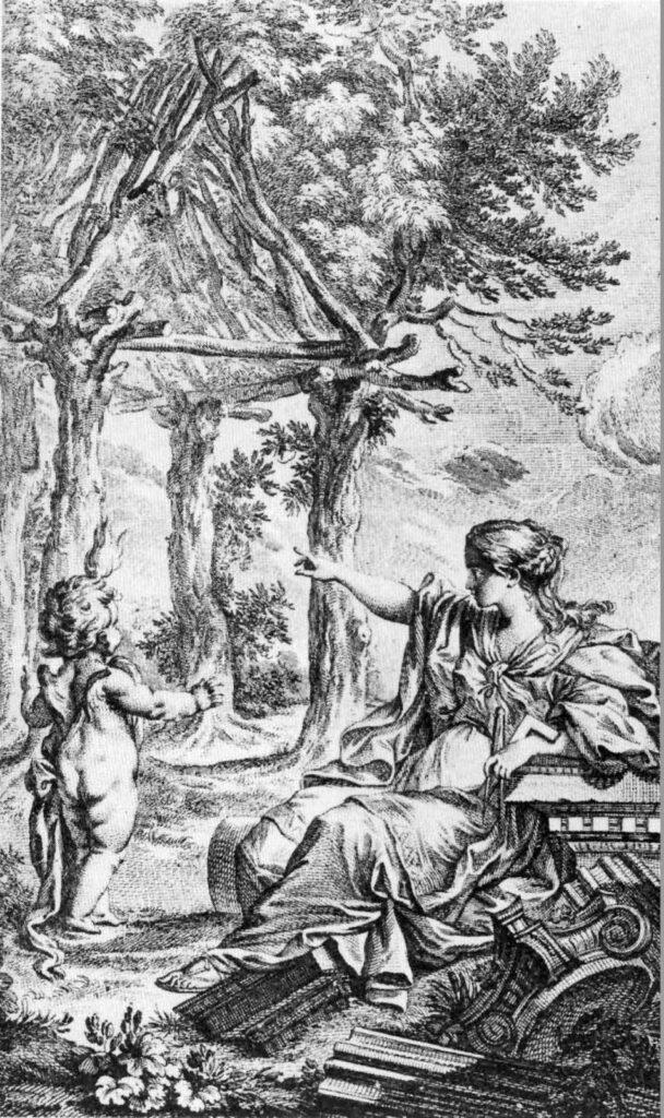 Abbed Laugier - urhytte