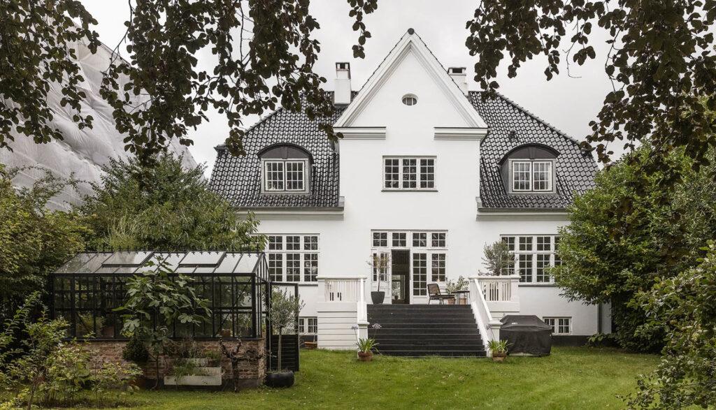 Patricier villa til salg i Carlsbergbyen, Arkitekttegnet patriciervilla