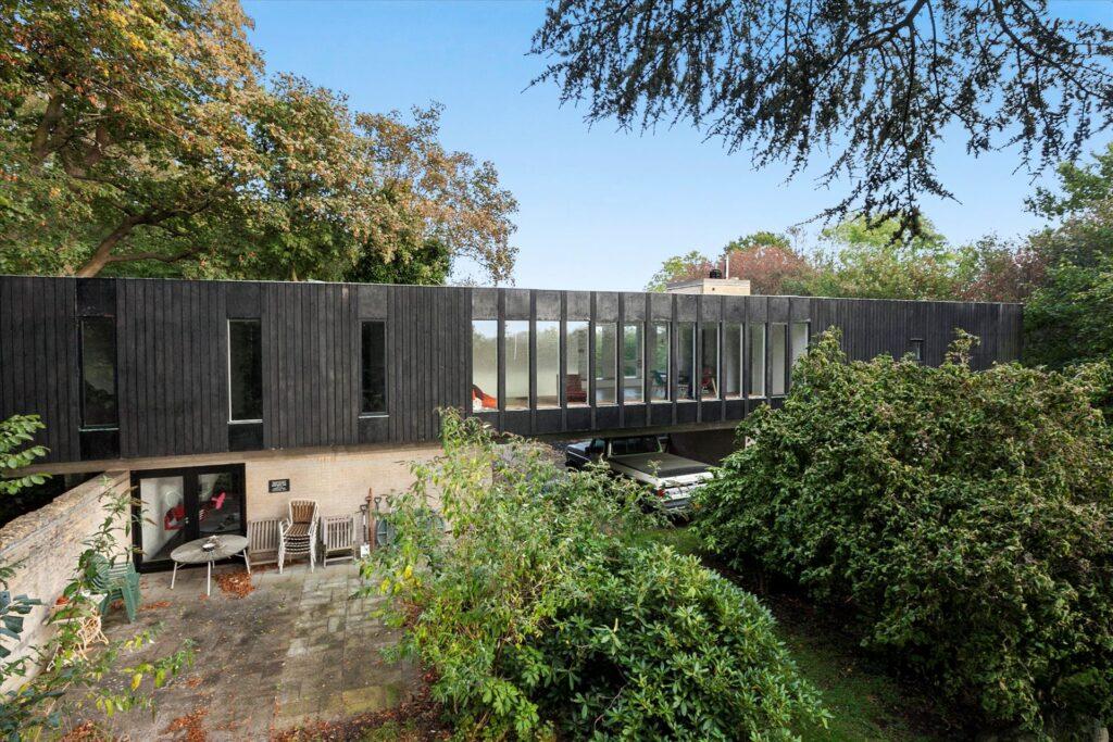 Fed villa fra 1960'erne, arkitekttegnet