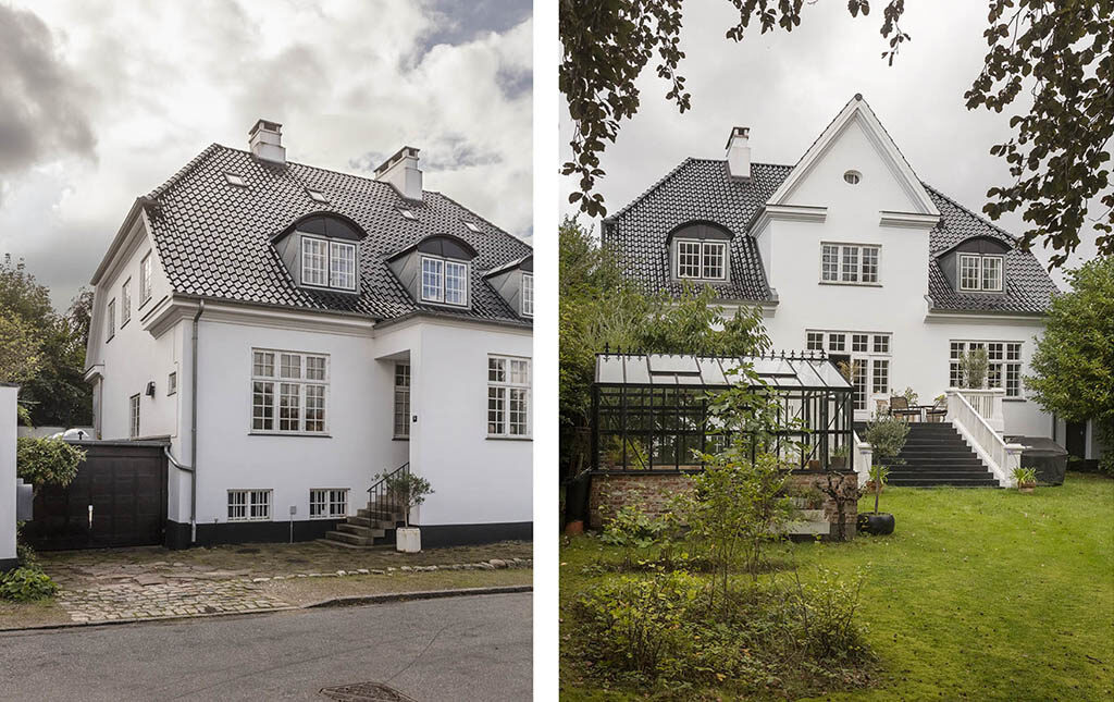 Arkitekttegnet patriciervilla i København, Arkitekt Ulrik Plesner