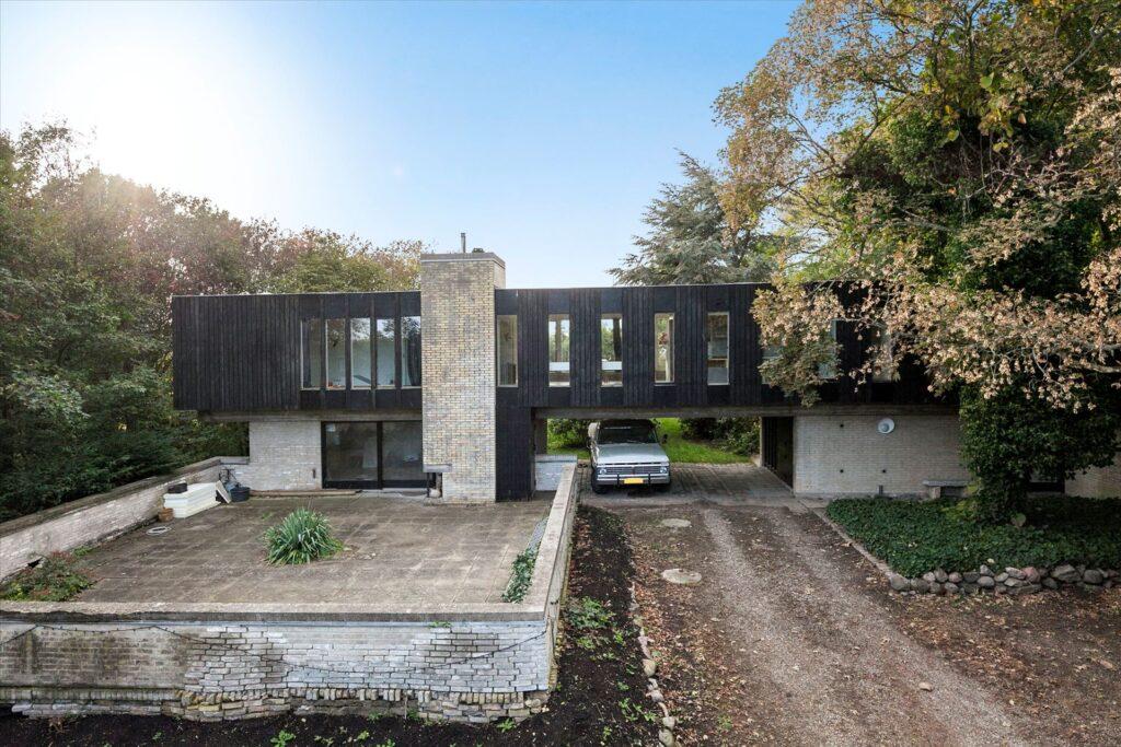 Arkitekttegnet hus, modernistisk villa, skælskør