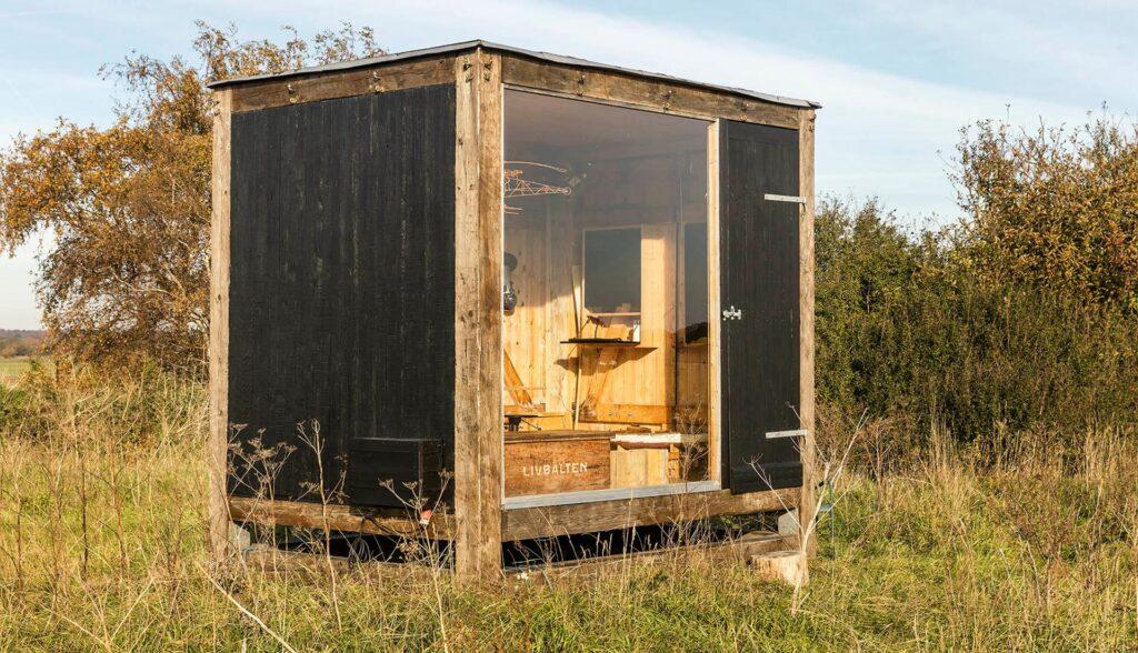 Arkitekt Anders Hermansen, pavillon, arkitekttegnet tiny house