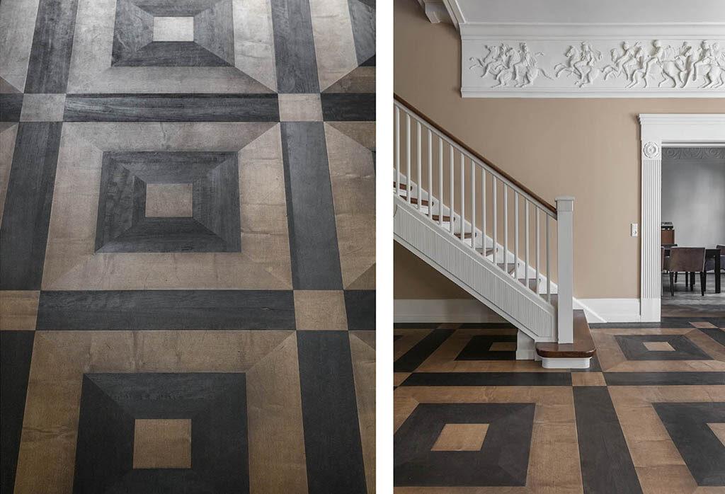 Nyklassicistisk interiør, Ulrik Plesner, Patriciervilla