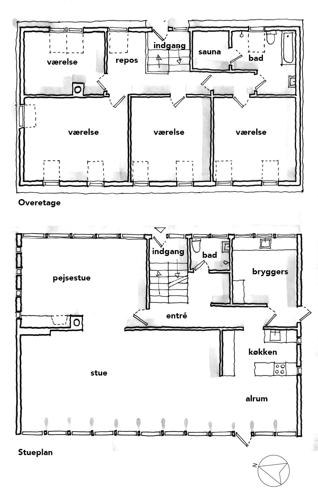 Planskitse, arkitekttegning