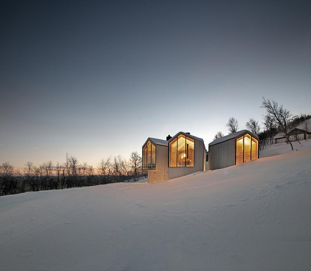 Reiulf Ramstad arkitekter, hytte i norge, arkitekttegnet fritidshus