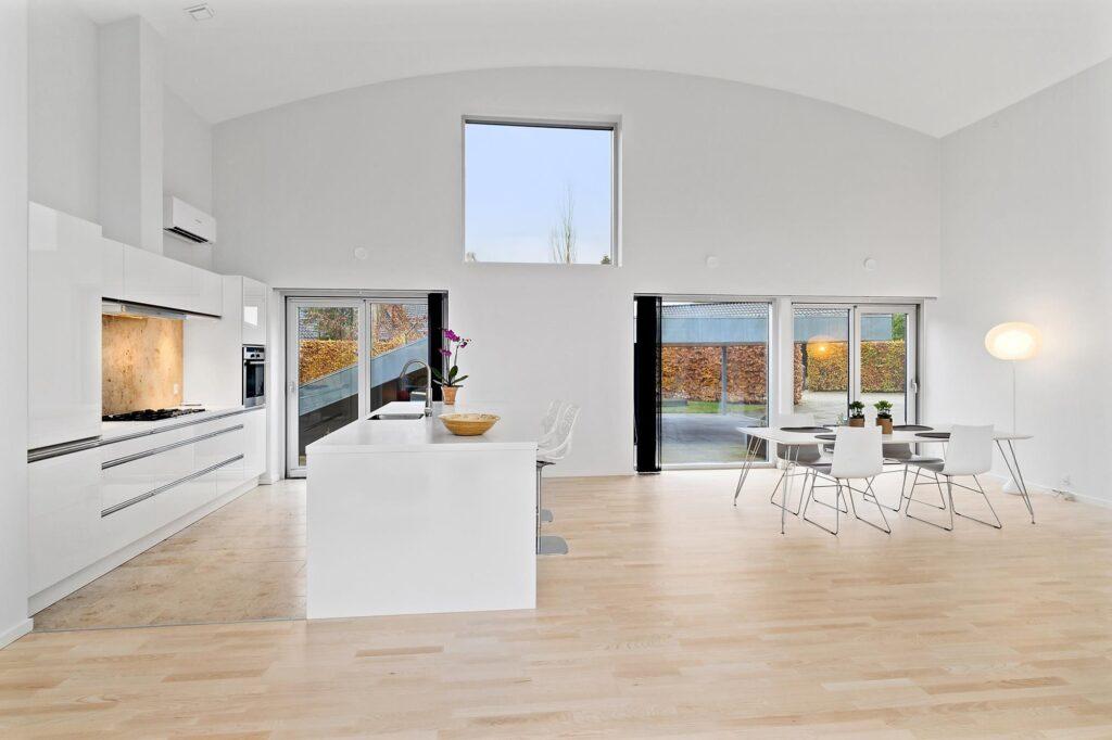 BIG m2 typehus til salg på fyn, arkitekttegnet hus til salg. Hill House