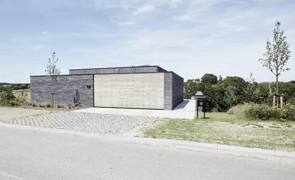 Arkitekttegnet hus til salg i Odder,