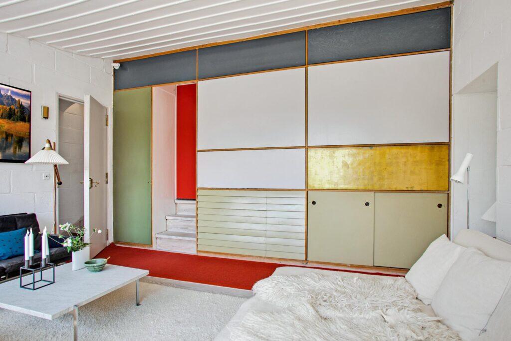Le Corbusier farver, Mogens Lassen