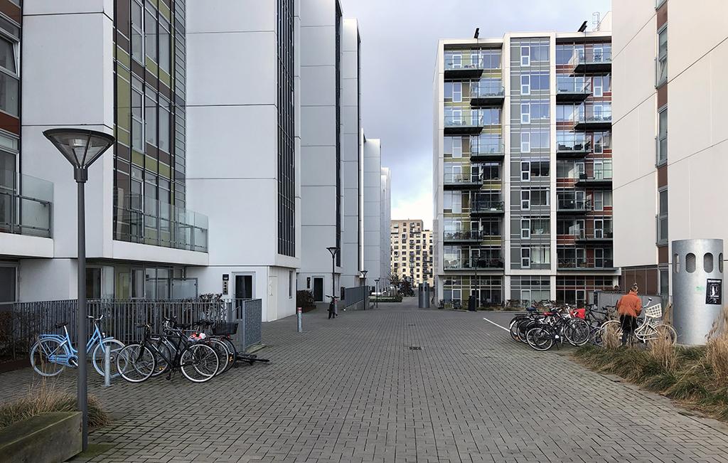 Havne Holmen, Aarhus Ø januar 2020