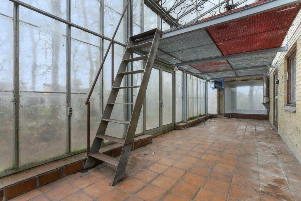 drivhus i to etager, drivhus i 60'er villa