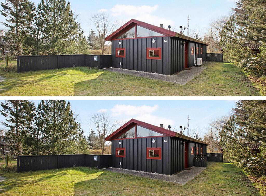 arkitekttegnet sommerhus til salg. 70'er arkitektur