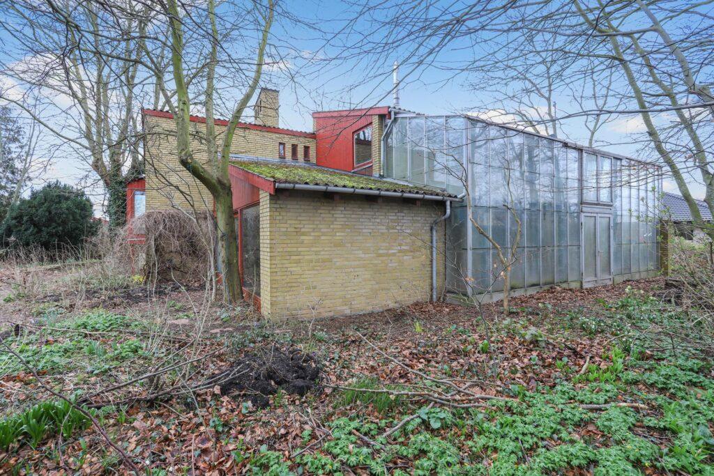60'er arkitektur, 60'er villa med drivhus
