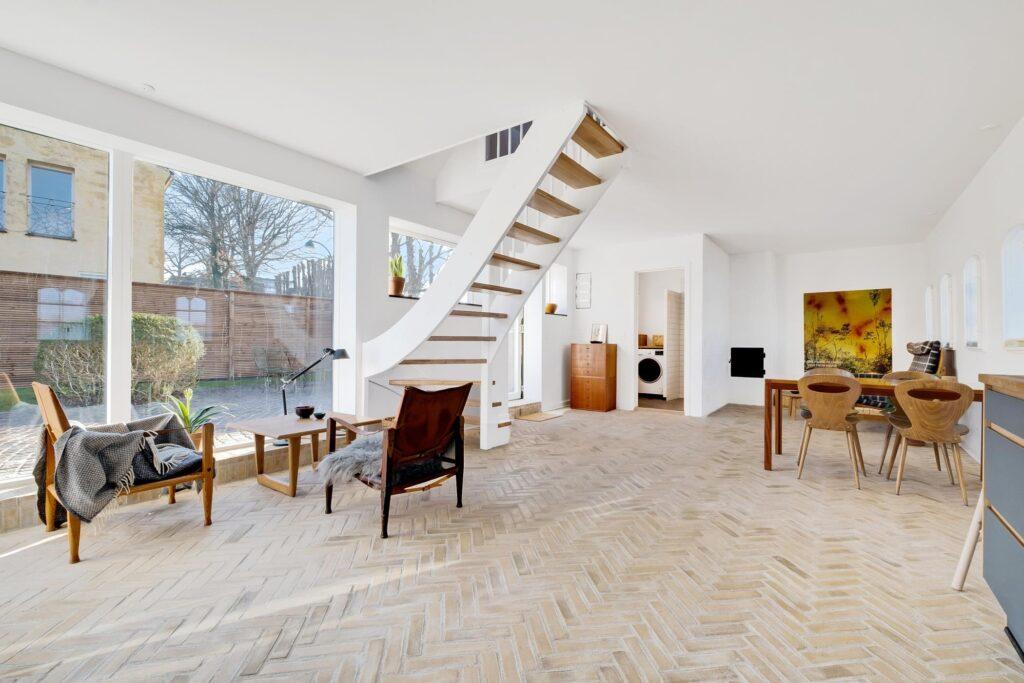Fantastisk interiør i historisk hus i Gentofte