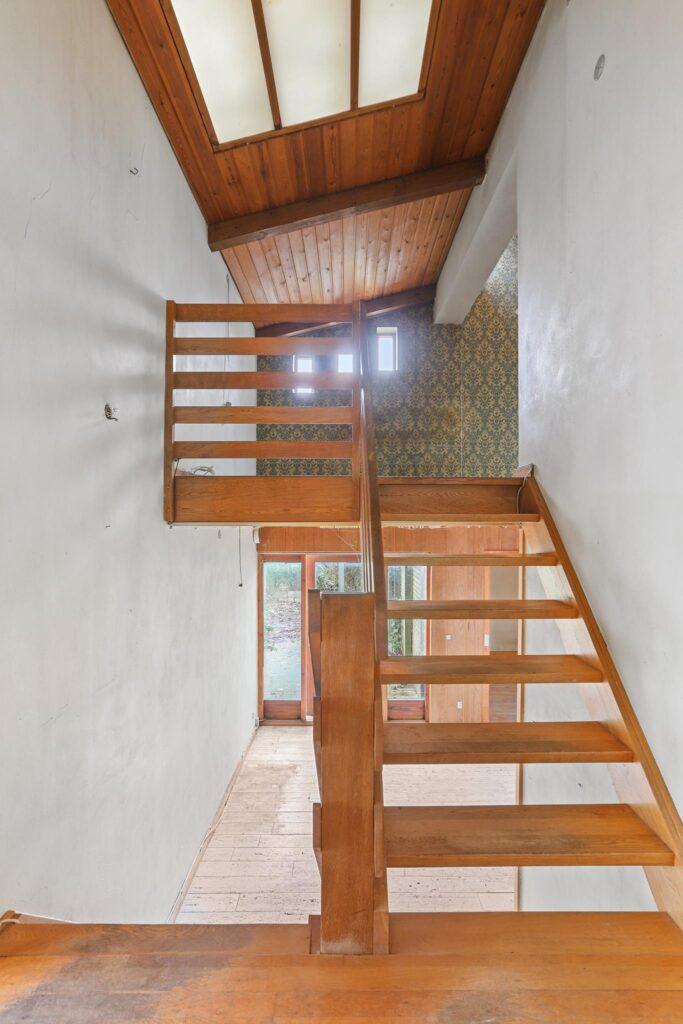 trapperum i 60'er villa
