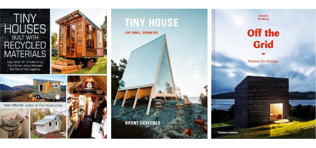 Bøger om Tiny House og Off the Grid fra Saxo