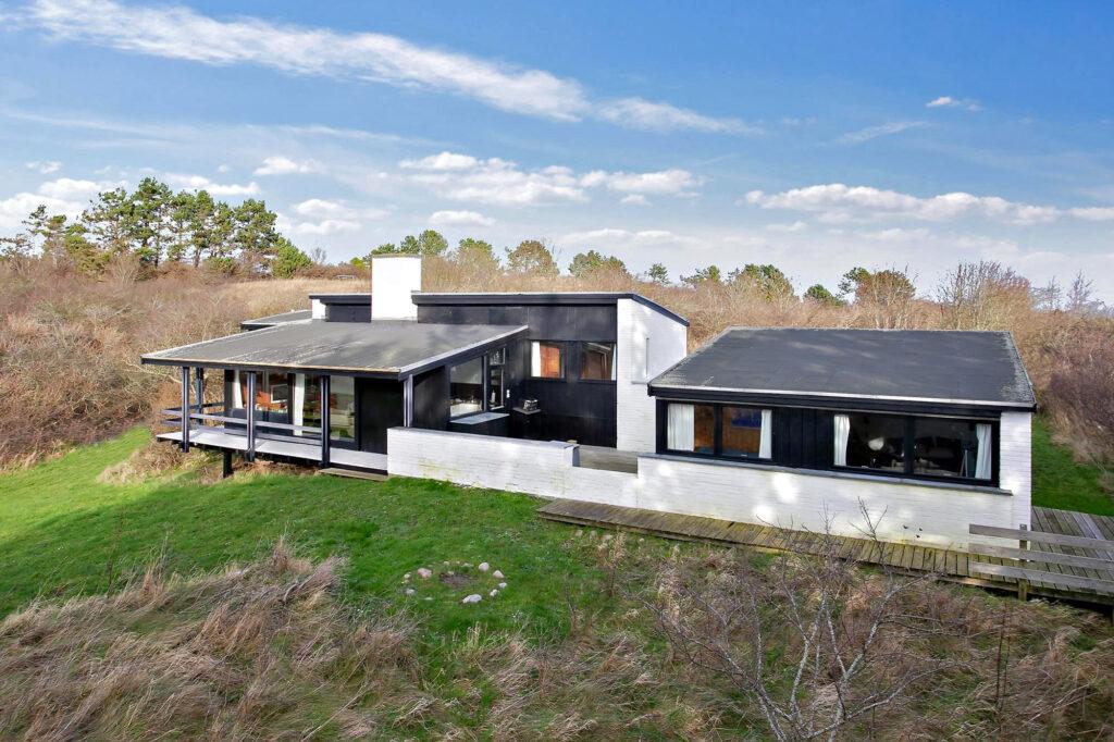 Arkitekttegnet fritidshus på Samsø, arkitekttegnet hus, Keld Danø
