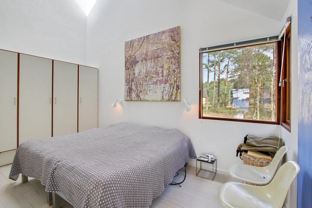 Soveværelse med ovenlys