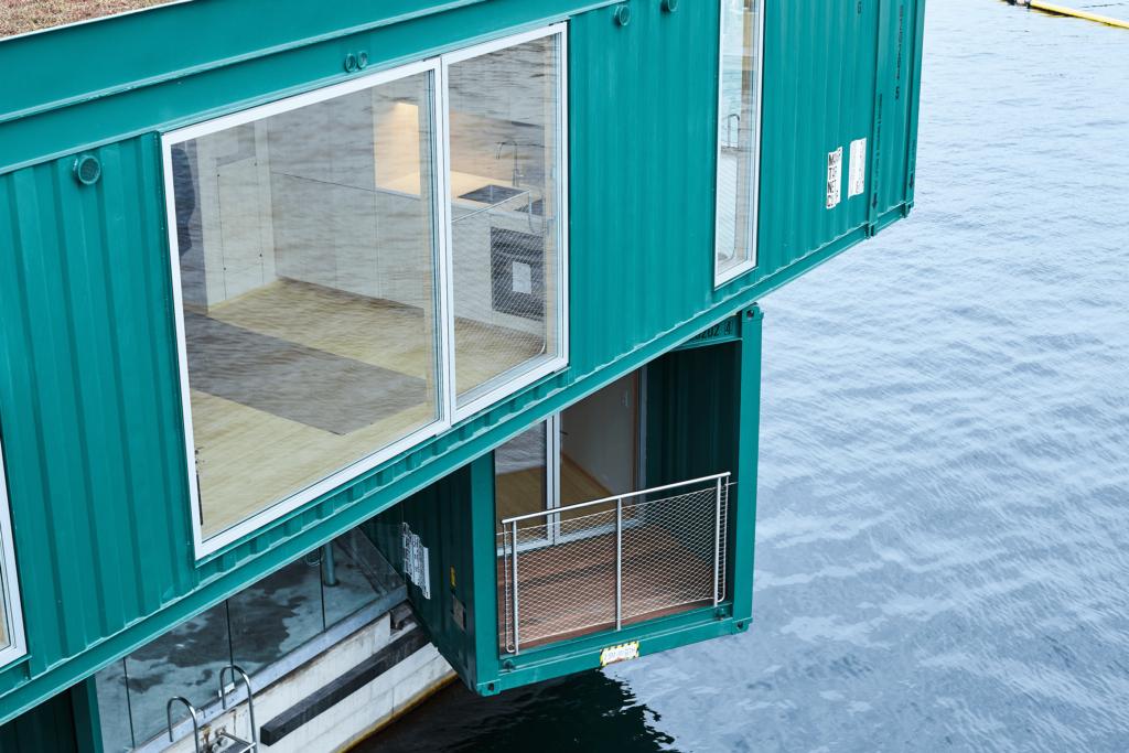 Urban Rigger, genbrug af containere til bolig