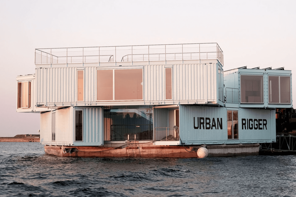 Urban Rigger, urban housing on water, BIG Architects