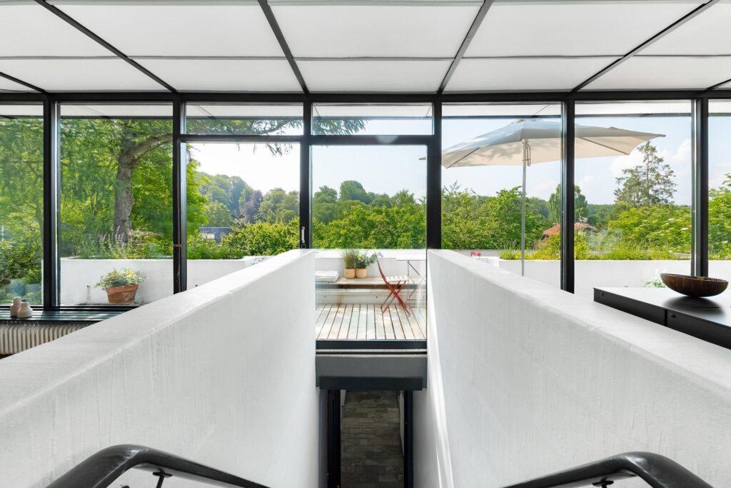 Japansk inspireret interiør i 60'er villa i Holte