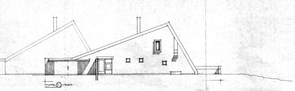 Solklintvej 17 facadetegning, arkitekttegning