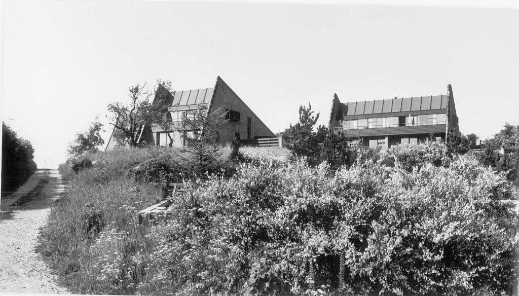 Solklintvej Klyngehuse tegnet af C. F. Møller, 70'er arkitektur