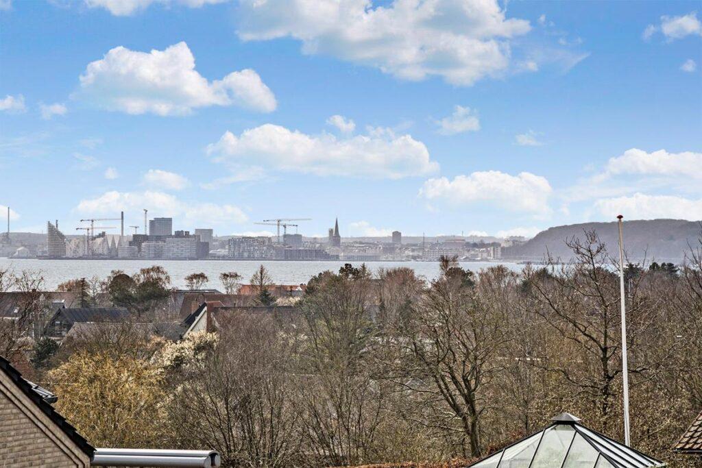 Aarhus skyline fra Egå