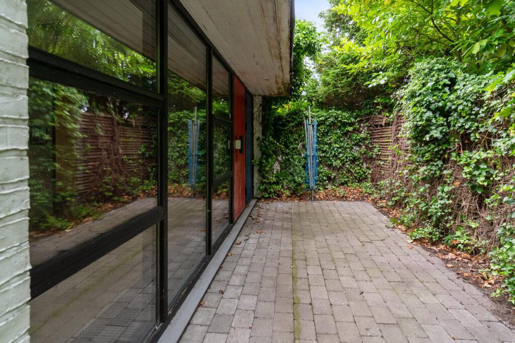 Modernistisk villa, Nyborg, 70'er hus, arkitekttegnet hus