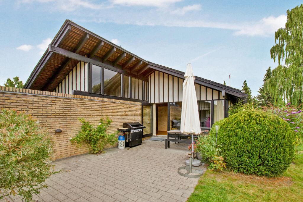 Bertel Udsen villa i Farum, 60'er villa, arkitekttegnet hus, arkitekttegnet 60'er hus