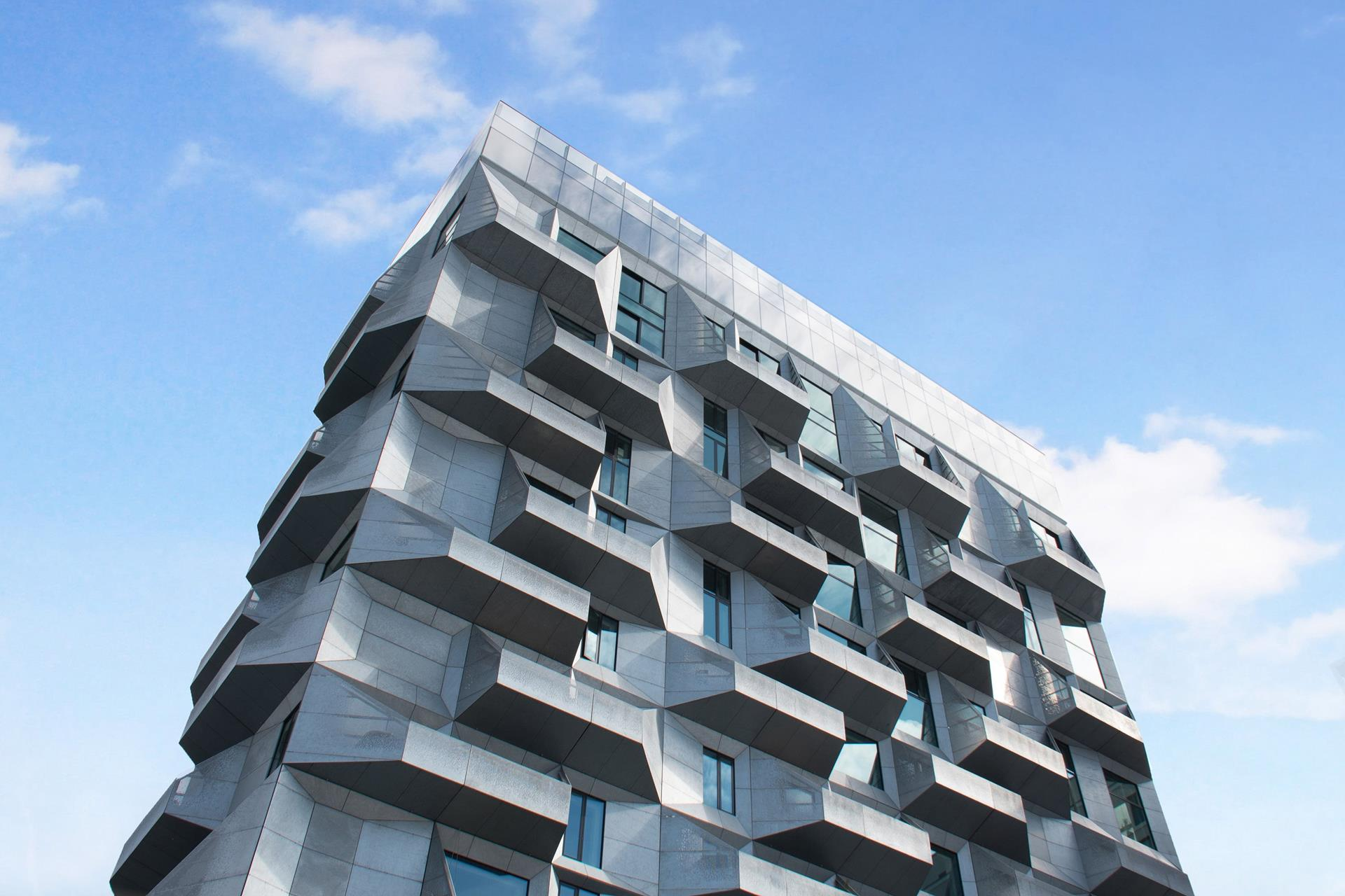 The Silo, Københavns Nordhavn, silo omdannet til luksuslejligheder.