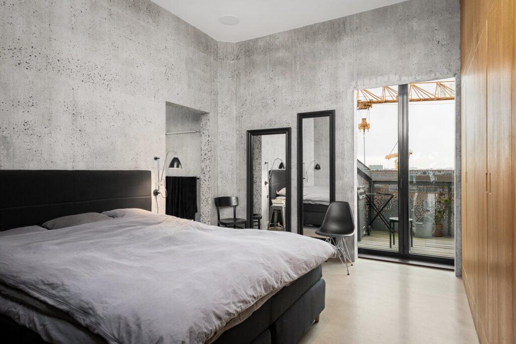 Soveværelse i The Silo, Arkitektvirksomheden COBE