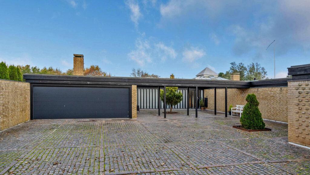 Arkitektegnet hus fra 1960'erne, arkitekttegnet villa til salg