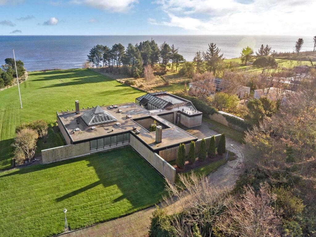 Arkitekttegnet hus i Sæby, 60'er hus med fladt tag, arkitekttegnet 60'er hus
