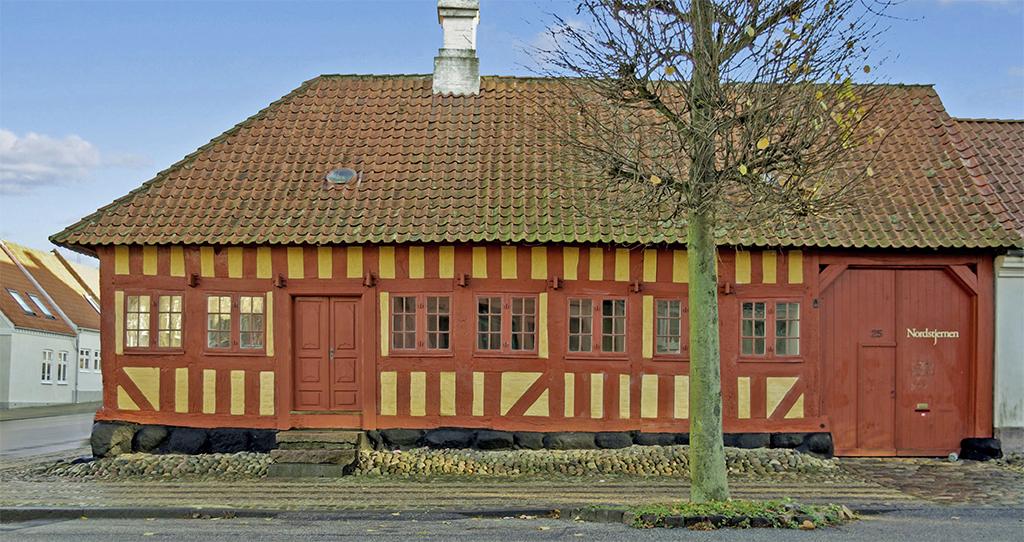 Nordstjernen Fredericia, ældste hus i Fredericia, bindingsværk