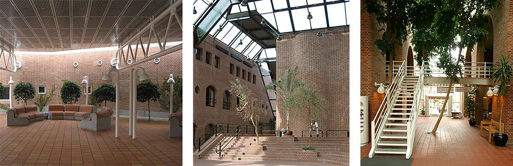 Tre brutalistiske projekter af Dall og Lindhardtsen