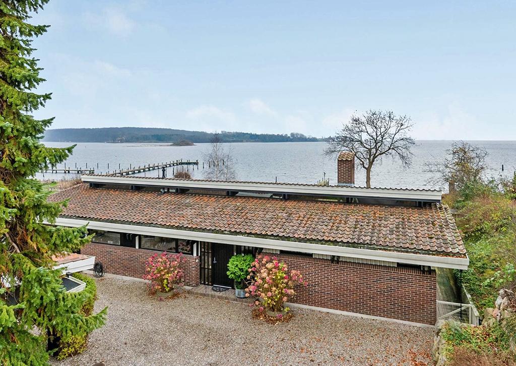 80'er hus, Carla og Axel Jürgensen, arkitekttegnet villa. Udsigt Thurø