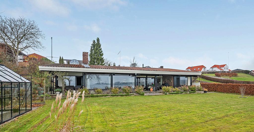80'er hus, Carla og Axel Jürgensen, arkitekttegnet villa.